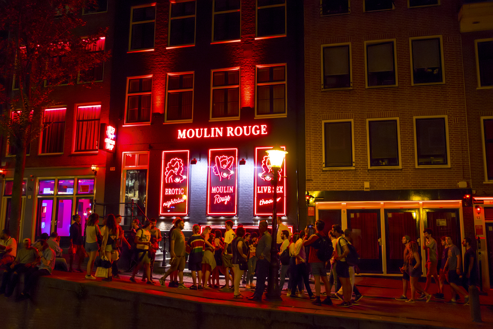 Amsterdam red light district to be moved from the city centre