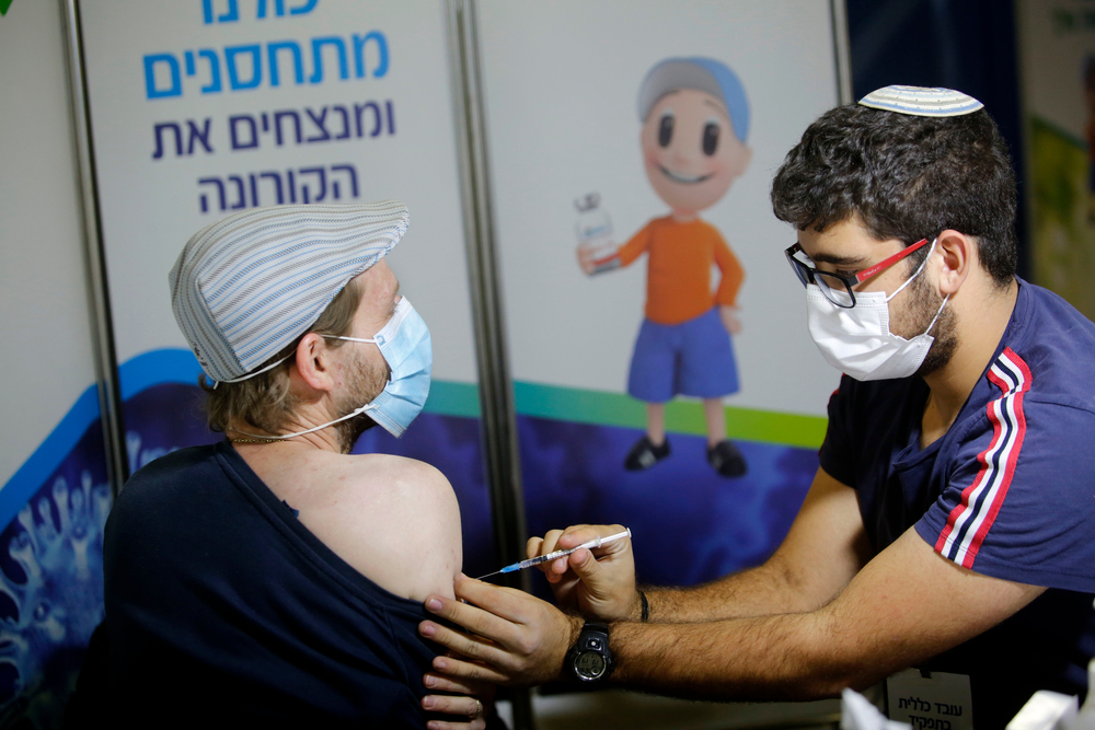 Israel slowly reopens as more people vaccinated