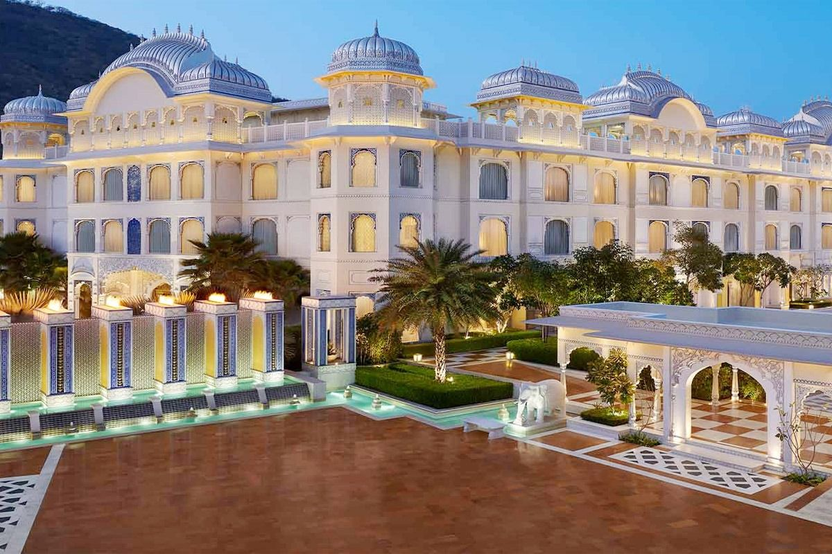 The Leela Palace Jaipur offers the perfect vantage to explore the city