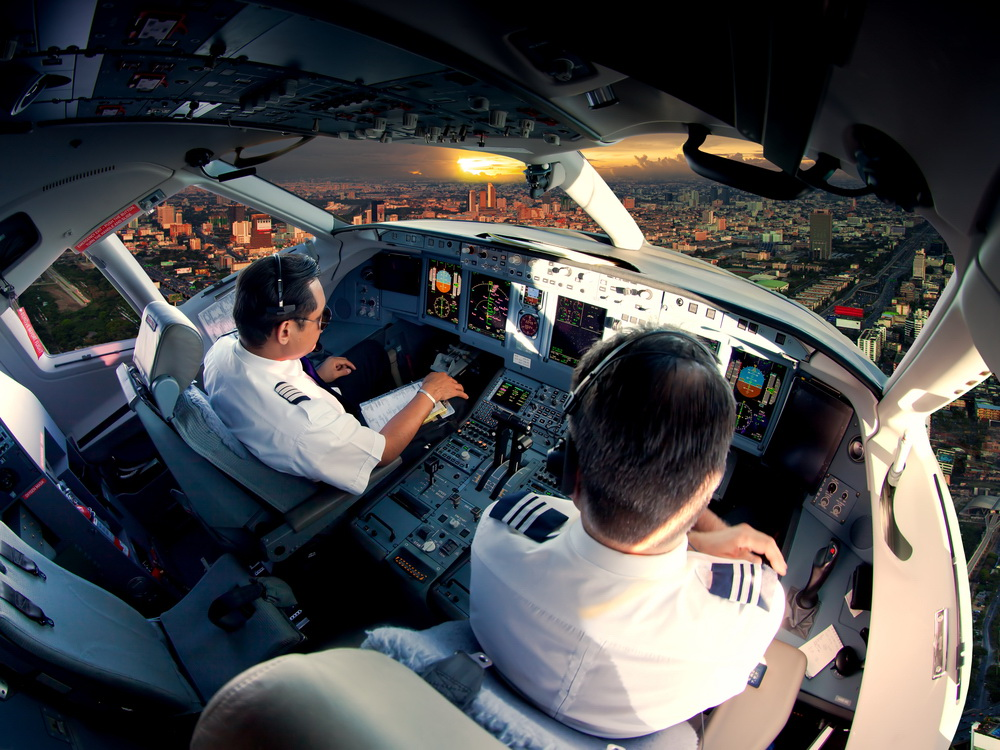 Half the airlines pilots grounded by Covid-19