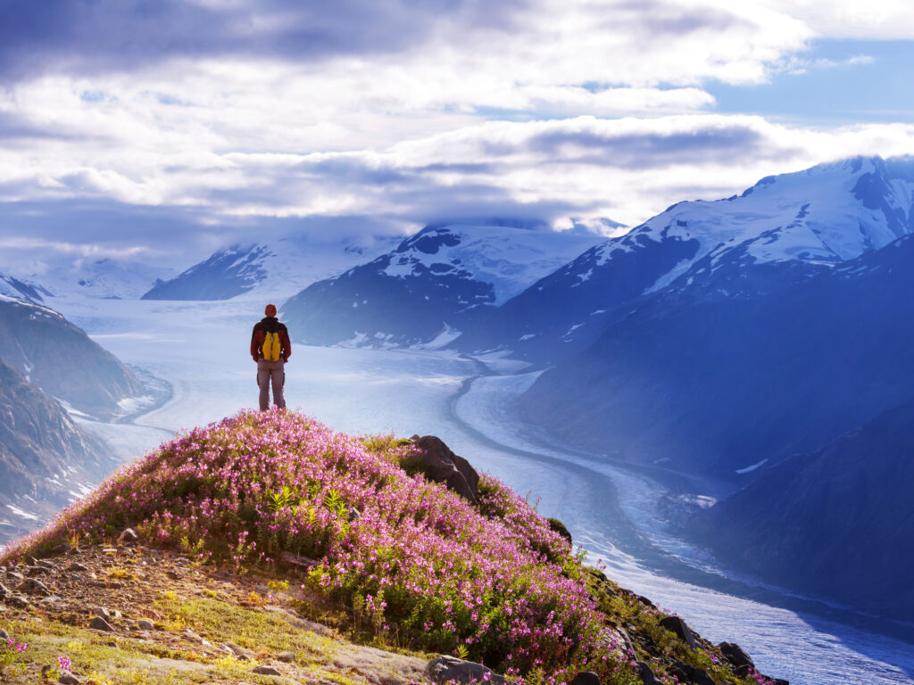 Alaska to offer tourists Covid-19 vaccines starting 1 June