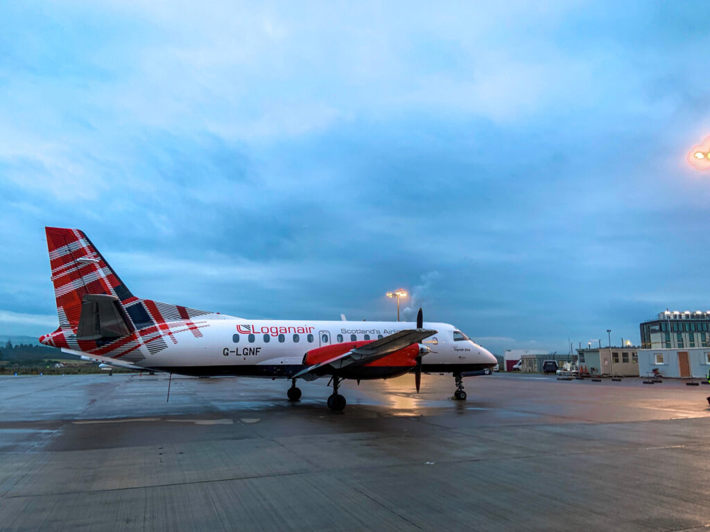 Loganair welcomes re-opening of tourism to Scotland's islands
