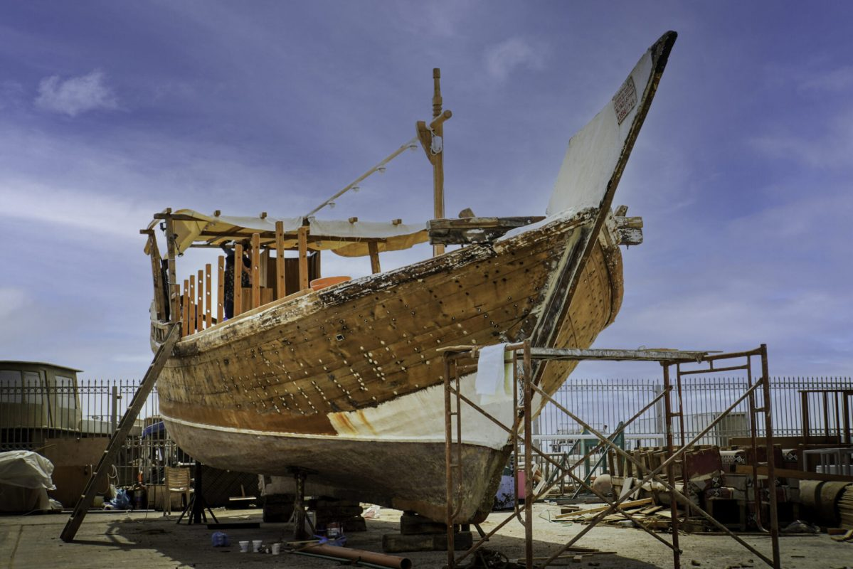 Qatar unveils ambitious refurbishment project of historic dhow boats